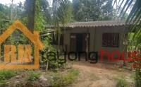 1401, ขายถูก บ้านเดี่ยวชั้นเดียว ชากคา ซอยตรงข้ามคลองทุเรียน